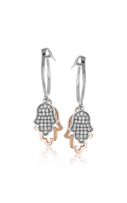 Zeghani Refined Rebel Earrings ZE616 product image