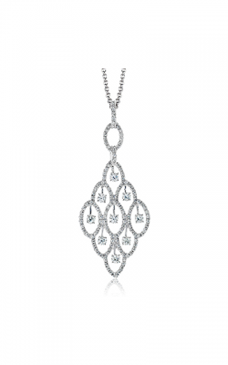 Zeghani Blindingly Beautiful Necklace ZP489 product image