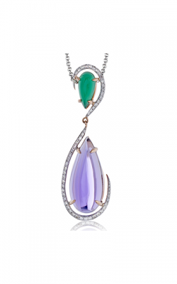 Zeghani Refined Rebel Necklace ZP728 product image