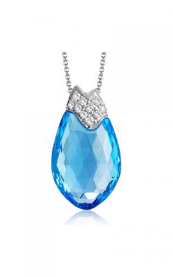 Zeghani Blindingly Beautiful Necklace ZP784 product image
