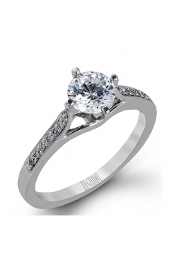 Zeghani Refined Rebel Engagement Ring ZR155 product image