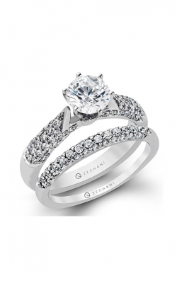 Zeghani Blindingly Beautiful Engagement Ring ZR153 product image