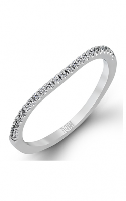 Zeghani Delicate Diva Wedding band ZR152 product image