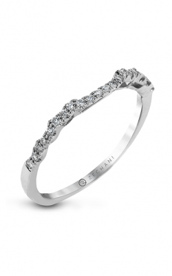 Zeghani Delicate Diva Wedding band ZR1494 product image