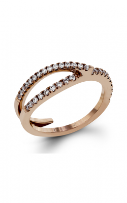 Zeghani Refined Rebel Wedding Band ZR1433 product image