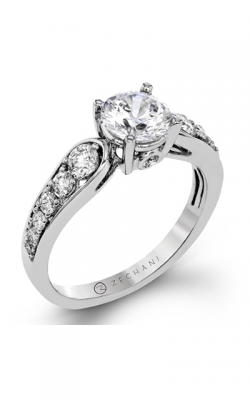 Zeghani Delicate Diva Engagement ring ZR1419 product image