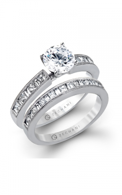 Zeghani Delicate Diva Engagement Ring ZR141 product image