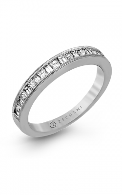 Zeghani Delicate Diva Wedding Band ZR141 product image