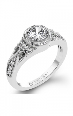 Zeghani Vintage Vixen Engagement Ring ZR1397 product image