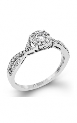 Zeghani Delicate Diva Engagement ring ZR1395 product image