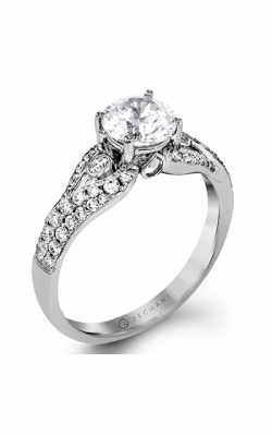 Zeghani Delicate Diva Engagement Ring ZR1391 product image