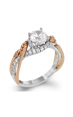 Zeghani Nature Lover Engagement Ring ZR1389 product image