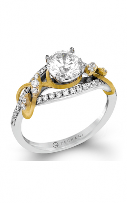 Zeghani Refined Rebel Engagement ring ZR1388 product image