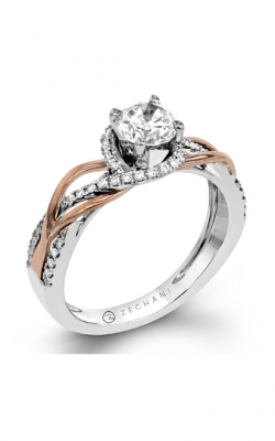 Zeghani Refined Rebel Engagement Ring ZR1382 product image