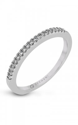 Zeghani Delicate Diva Wedding Band ZR1032 product image
