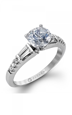 Zeghani Delicate Diva Engagement ring ZR1032 product image