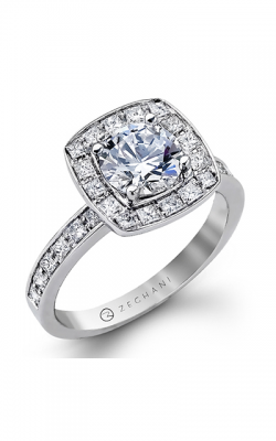 Zeghani Delicate Diva Engagement Ring ZR1038 product image