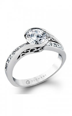 Zeghani Refined Rebel Engagement Ring ZR1049 product image