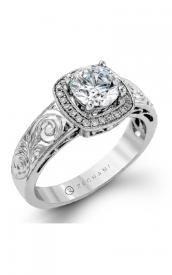 Zeghani Vintage Vixen Engagement ring ZR1068 product image