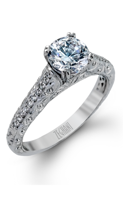 Zeghani Vintage Vixen Engagement Ring ZR1070 product image