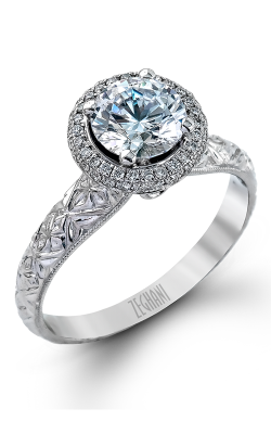 Zeghani Vintage Vixen Engagement ring ZR1071 product image
