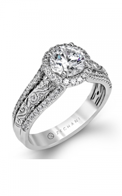 Zeghani Vintage Vixen Engagement Ring ZR1099 product image