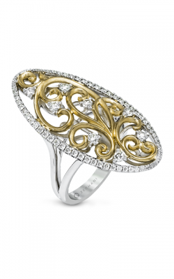 Zeghani Vintage Vixen Fashion Ring ZR1101 product image