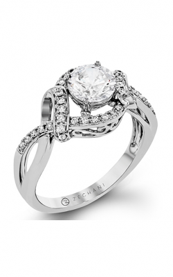 Zeghani Refined Rebel Engagement Ring ZR1374 product image