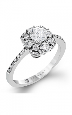 Zeghani Nature Lover Engagement ring ZR1371 product image