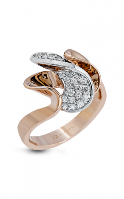 Zeghani Refined Rebel Fashion Ring ZR1367 product image