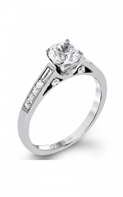 Zeghani Delicate Diva Engagement Ring ZR1364 product image