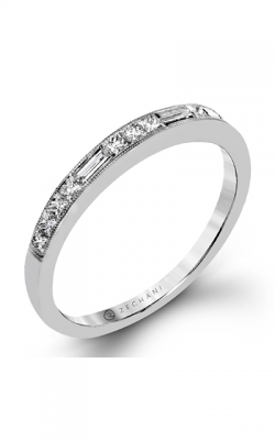 Zeghani Delicate Diva Wedding Band ZR1364 product image