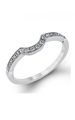 Zeghani Delicate Diva Wedding Band ZR136 product image