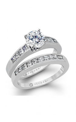 Zeghani Delicate Diva Engagement ring ZR135 product image