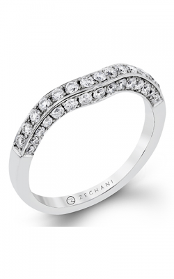 Zeghani Blindingly Beautiful Wedding band ZR113 product image