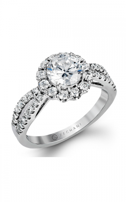 Zeghani Delicate Diva Engagement ring ZR1346 product image
