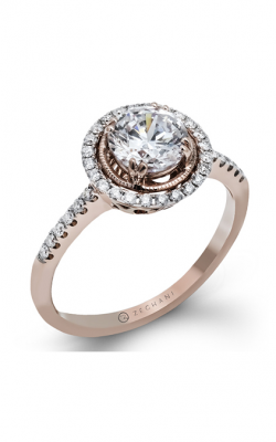 Zeghani Vintage Vixen Engagement Ring ZR1136 product image