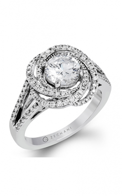 Zeghani Nature Lover Engagement Ring ZR1324 product image