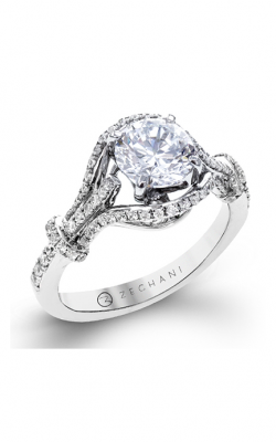 Zeghani Blindingly Beautiful Engagement Ring ZR1321 product image