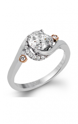 Zeghani Refined Rebel Engagement Ring ZR1315 product image