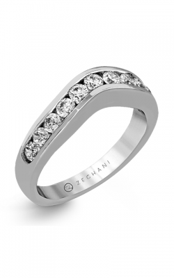 Zeghani Delicate Diva Wedding Band ZR1141 product image
