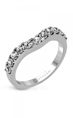 Zeghani Delicate Diva Wedding Band ZR1143 product image