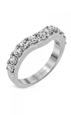 Zeghani Delicate Diva Wedding Band ZR1144 product image