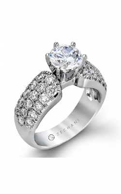 Zeghani Blindingly Beautiful Engagement Ring ZR114 product image