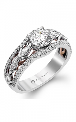 Zeghani Refined Rebel Engagement ring ZR1145 product image