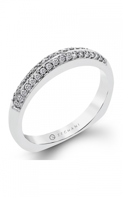 Zeghani Blindingly Beautiful Wedding Band ZR115 product image