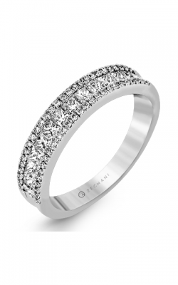 Zeghani Blindingly Beautiful Wedding Band ZR1151 product image