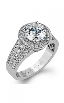 Zeghani Blindingly Beautiful Engagement Ring ZR1156 product image