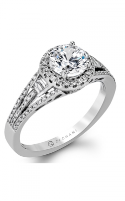 Zeghani Blindingly Beautiful Engagement Ring ZR1167 product image