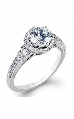 Zeghani Vintage Vixen Engagement ring ZR1168 product image